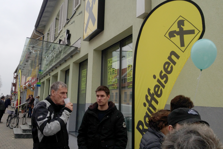 Weltspartag, Raiffeisenbank Eibiswald