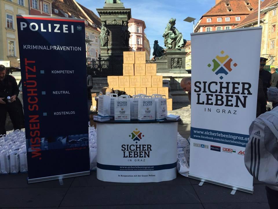Sicher Leben in Graz Hauptplatz