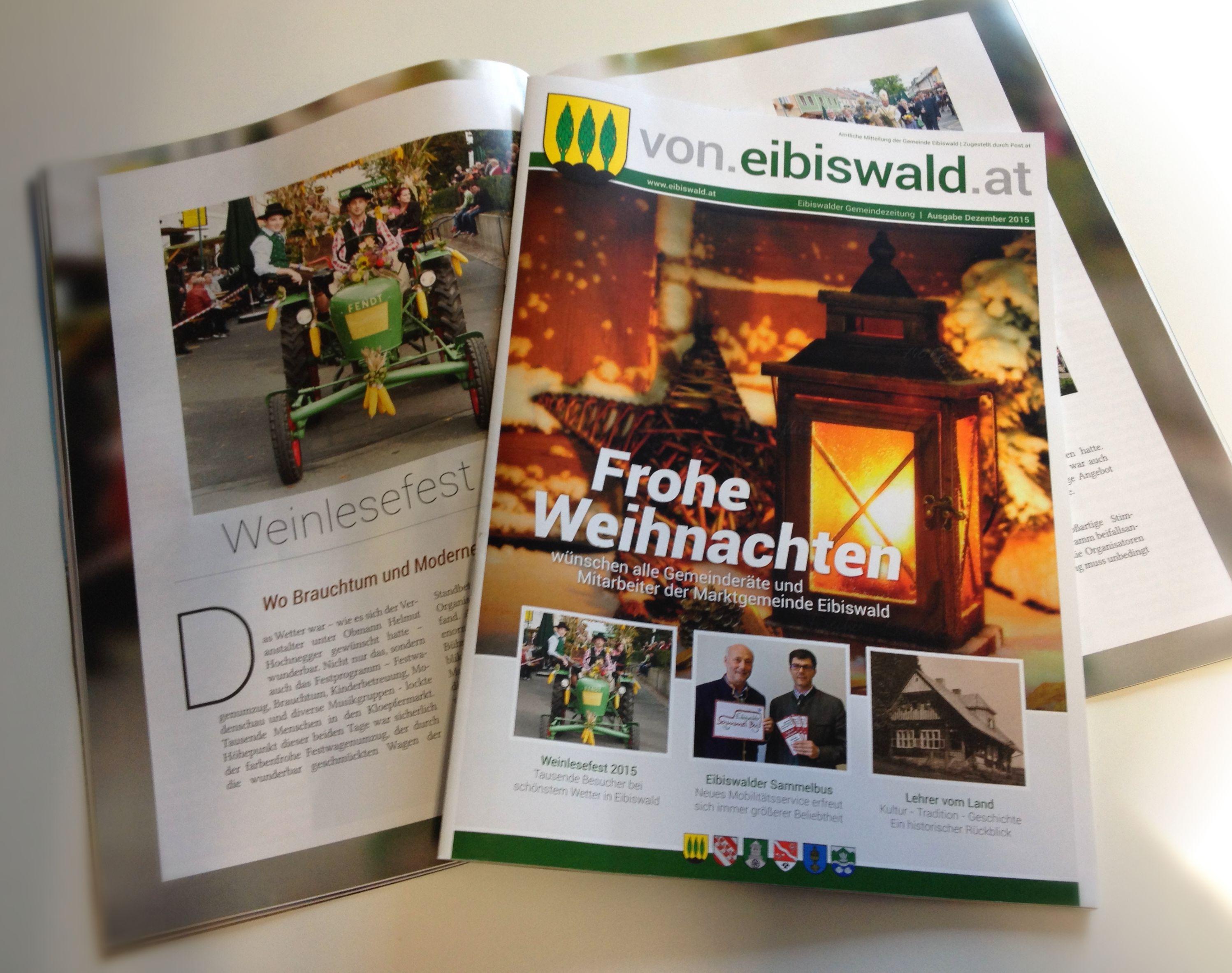 Gemeindezeitung Eibiswald Dezember 2015