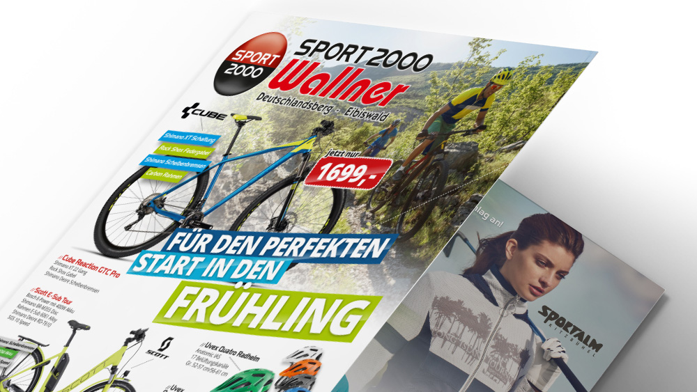 Prospektgestaltung Wallner, Layout, Design, Folder