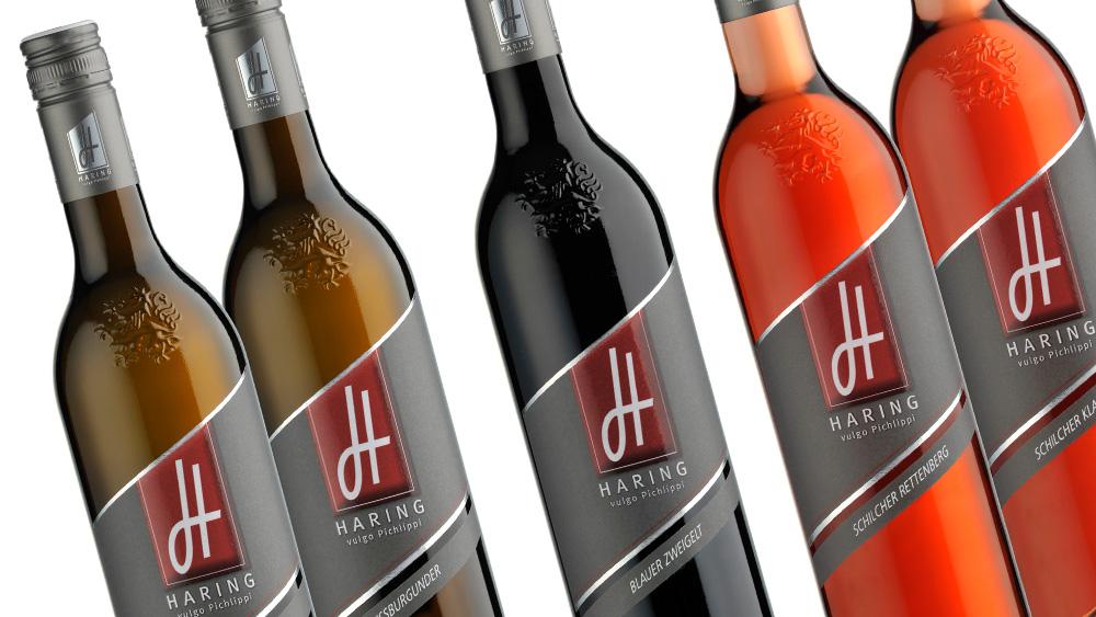 Pichlippi Weine, Design Weinetiketten, Corporate Design