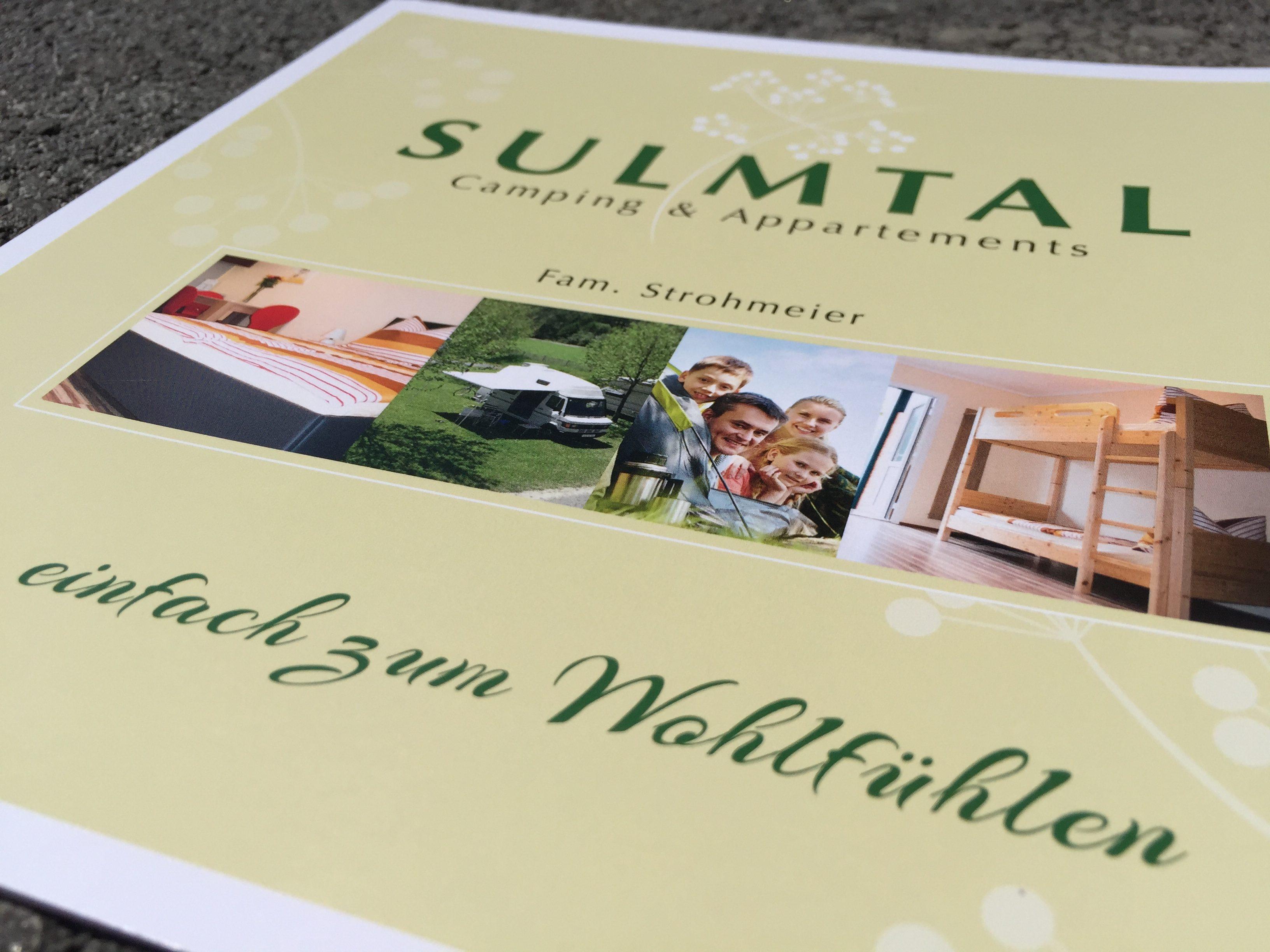 Folder Sulmtalcamping, Camping, Sulmtal
