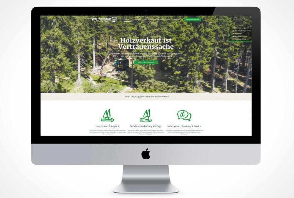 Waldverband Steiermark, Homepage, Webseite,