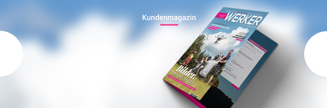 Magazin, Layout, Design, Werbeagentur