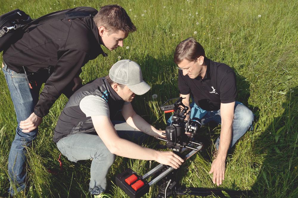 Filmdreh, Waldverband Steiermark