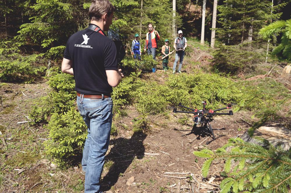 Filmdreh Waldverband Steiermark