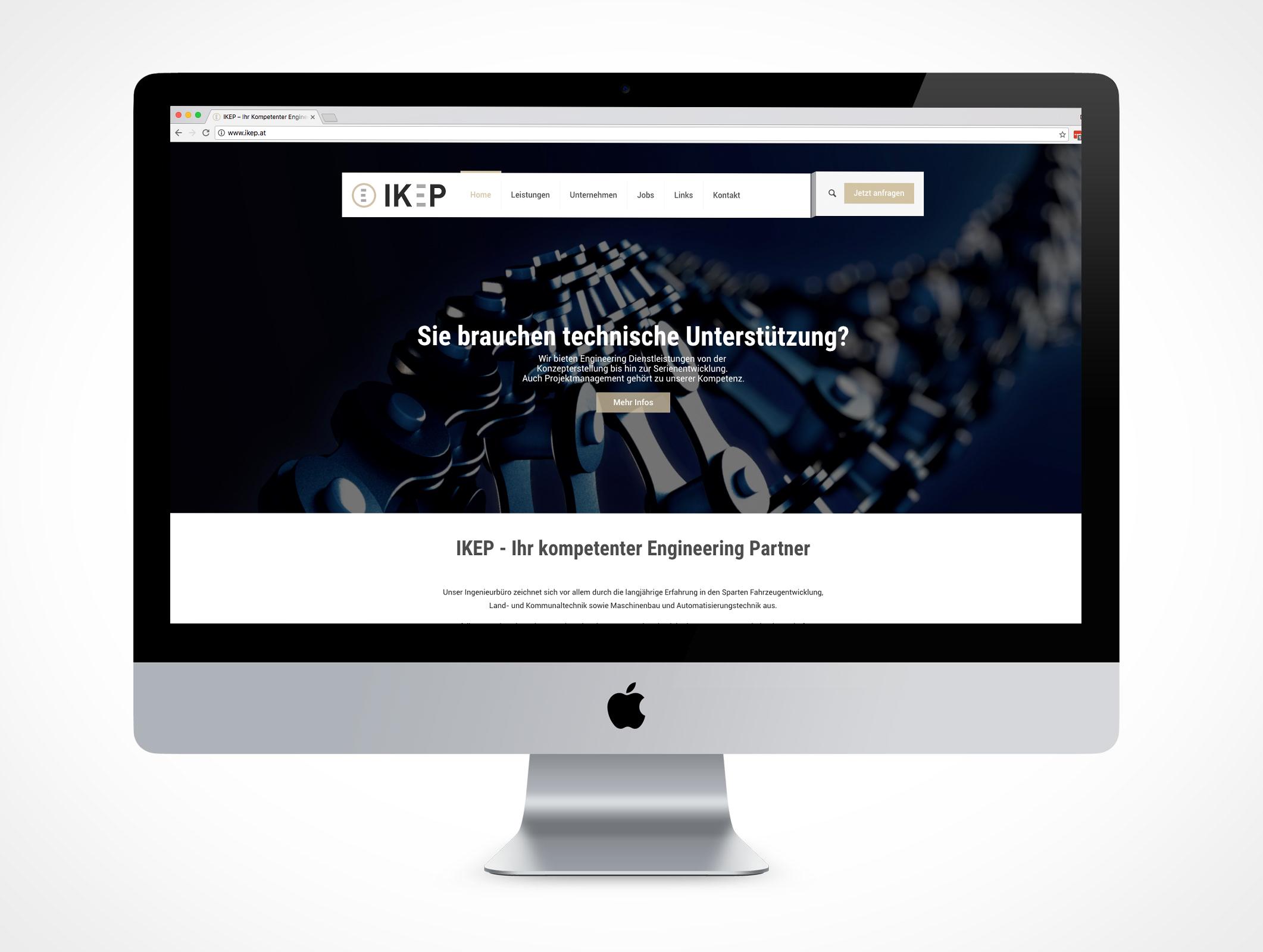 Homepage Ikep