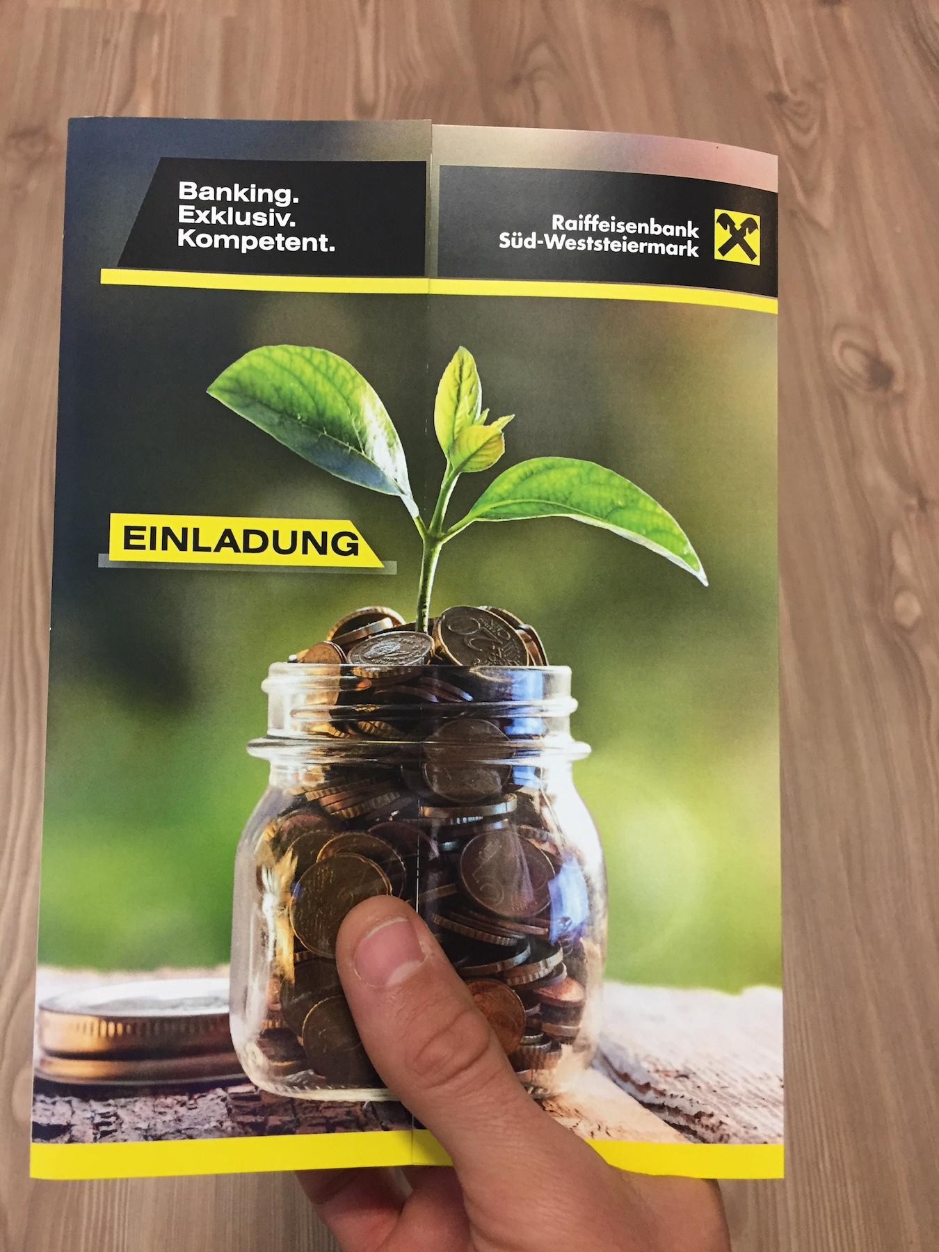 Banking, Exklusiv, Kompetent, Süd-Weststeiermark
