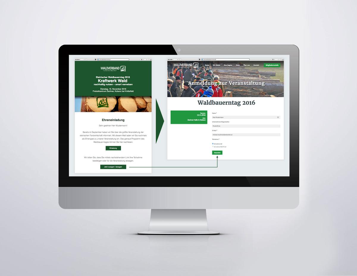 Einladungsmodul Waldverband Steiermark