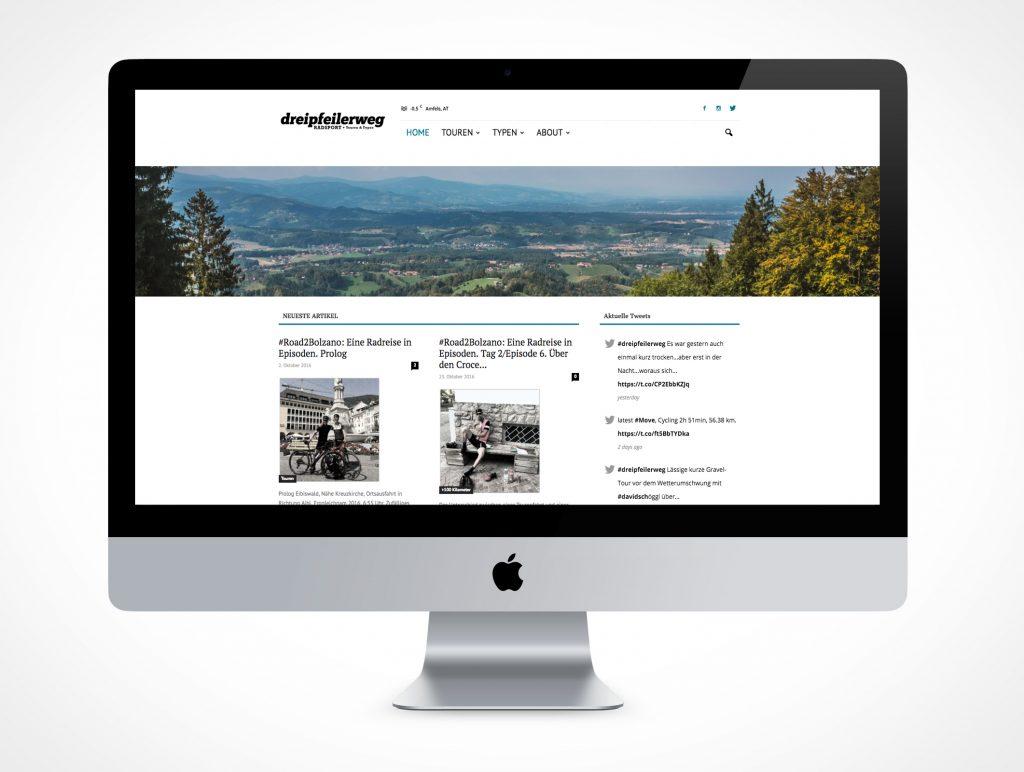 Blog Radsport, Touren, Homepage
