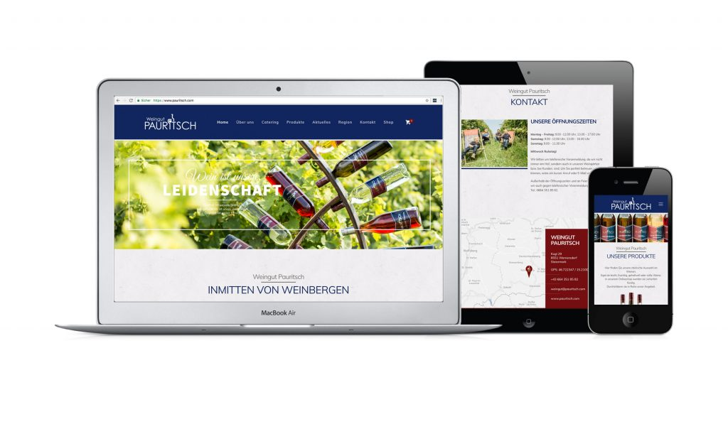 Website www.paurtisch.com