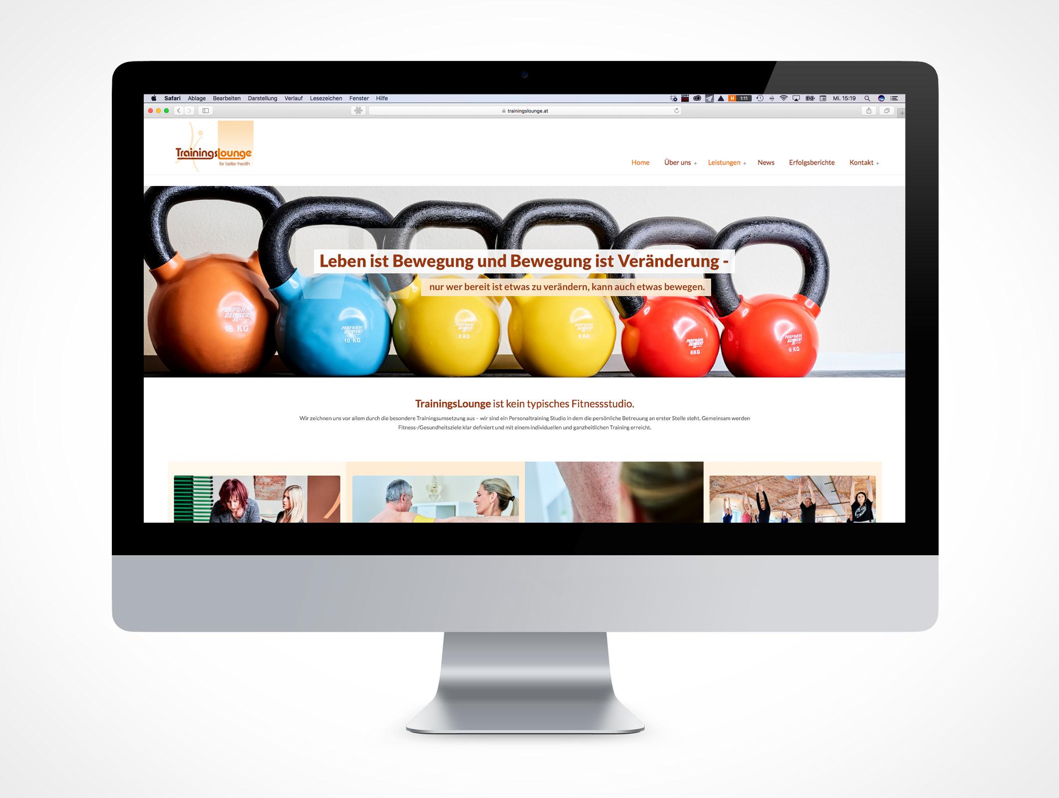 Homepage Trainingslounge