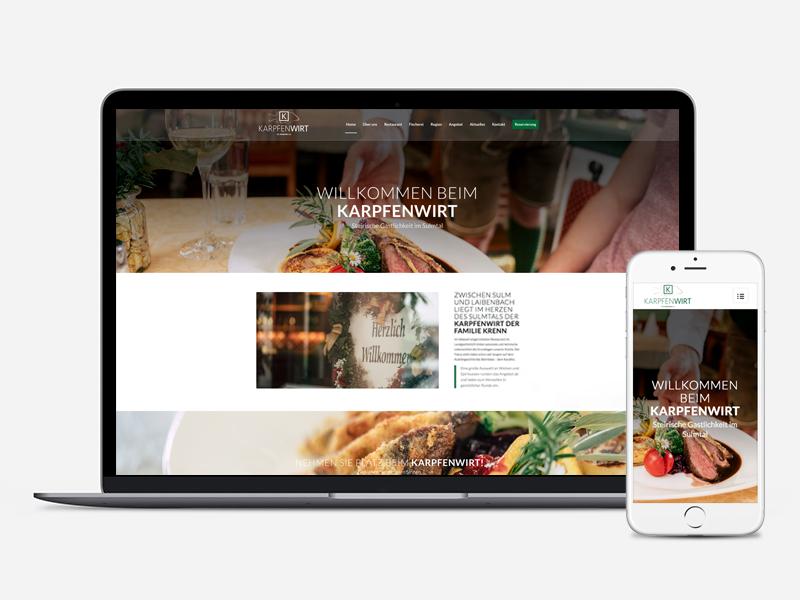 Homepage Karpfenwirt