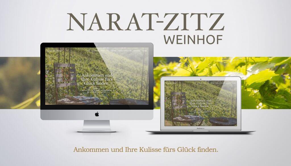 Webseite Narat-Zitz