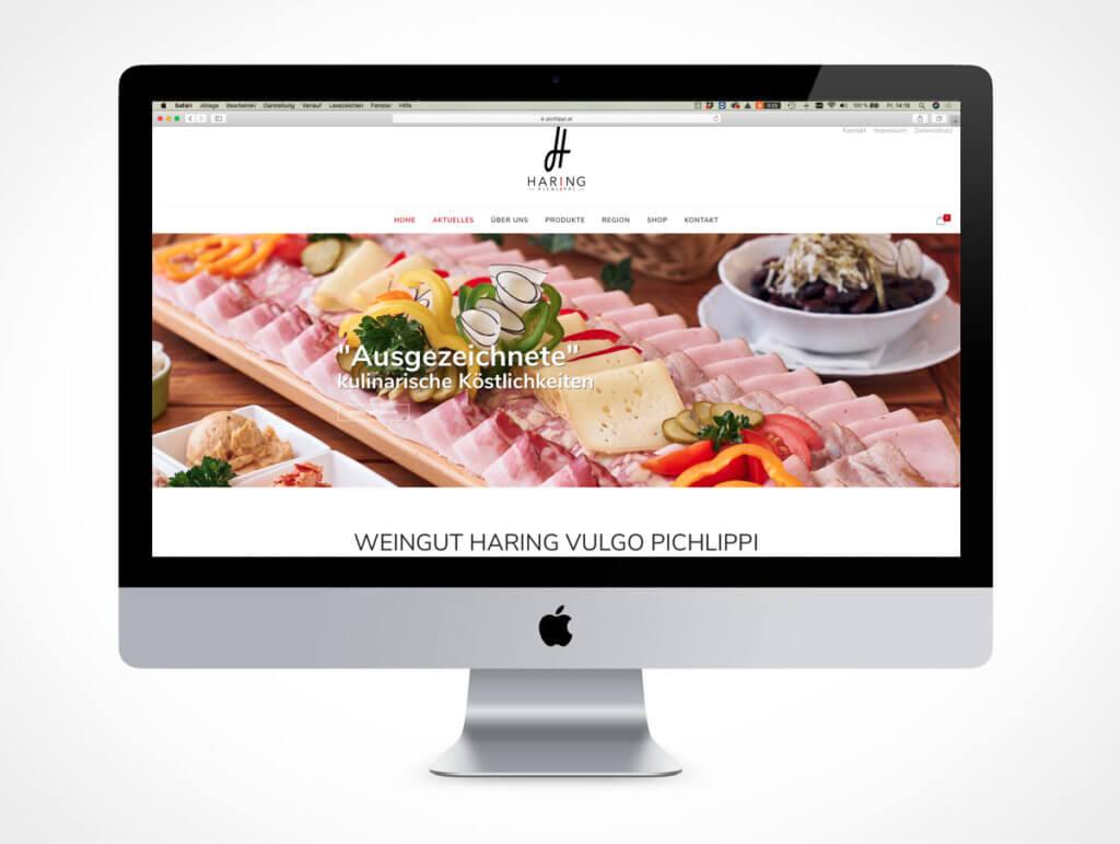 Homepage Weingut Haring